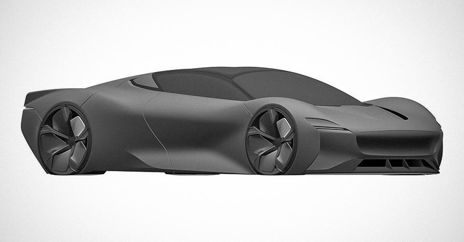 В Сети появились изображения загадочного концепта Jaguar — Motor
