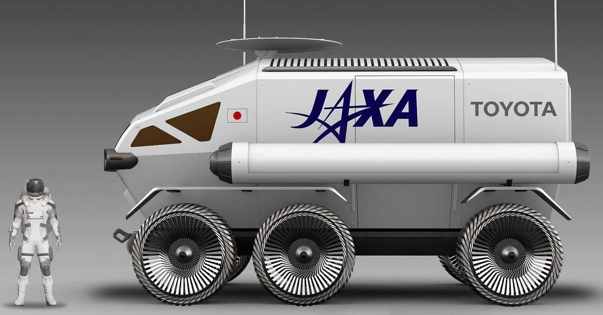 Луноход Toyota будут заправлять топливом, сделанным на Луне — Motor