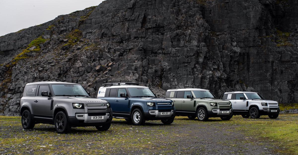Стали известны рублевые цены на новый Land Rover Defender — Motor