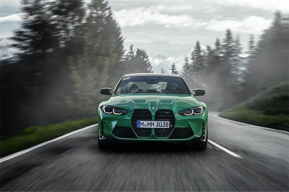 Мировая премьера нового спорткара BMW G80 M3 — BMWLAND.RU
