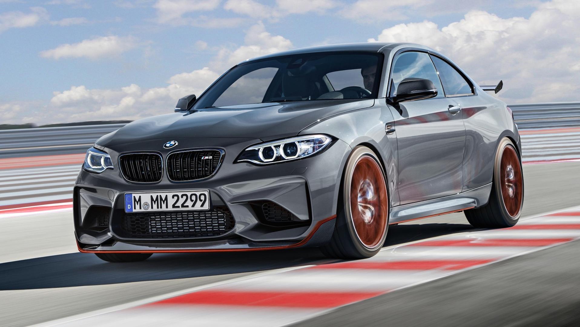 Новая информация о BMW M8 CSL