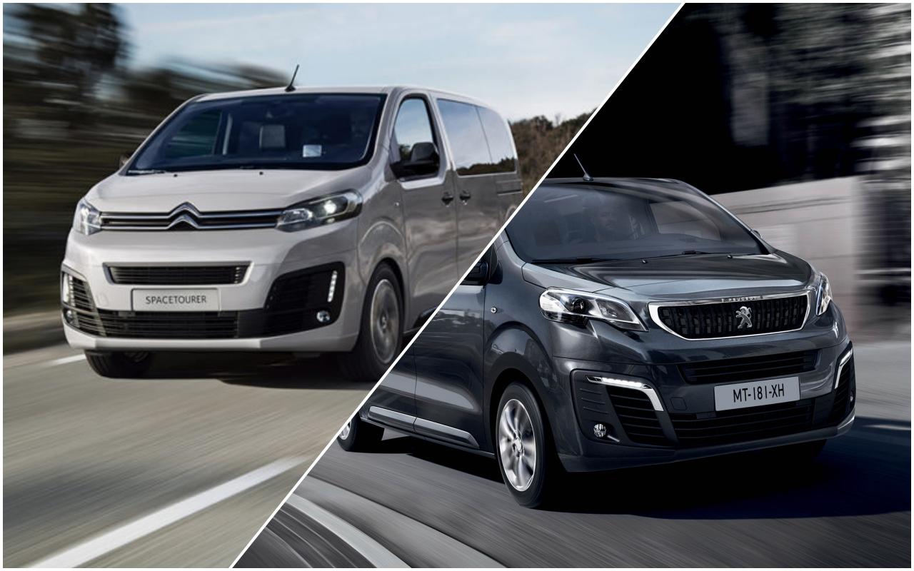 Peugeot Traveller иCitroen SpaceTourer: новые модификации— журнал Зарулем