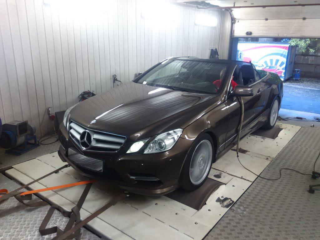 Чип тюнинг Mercedes E-Class W212 2009-2013