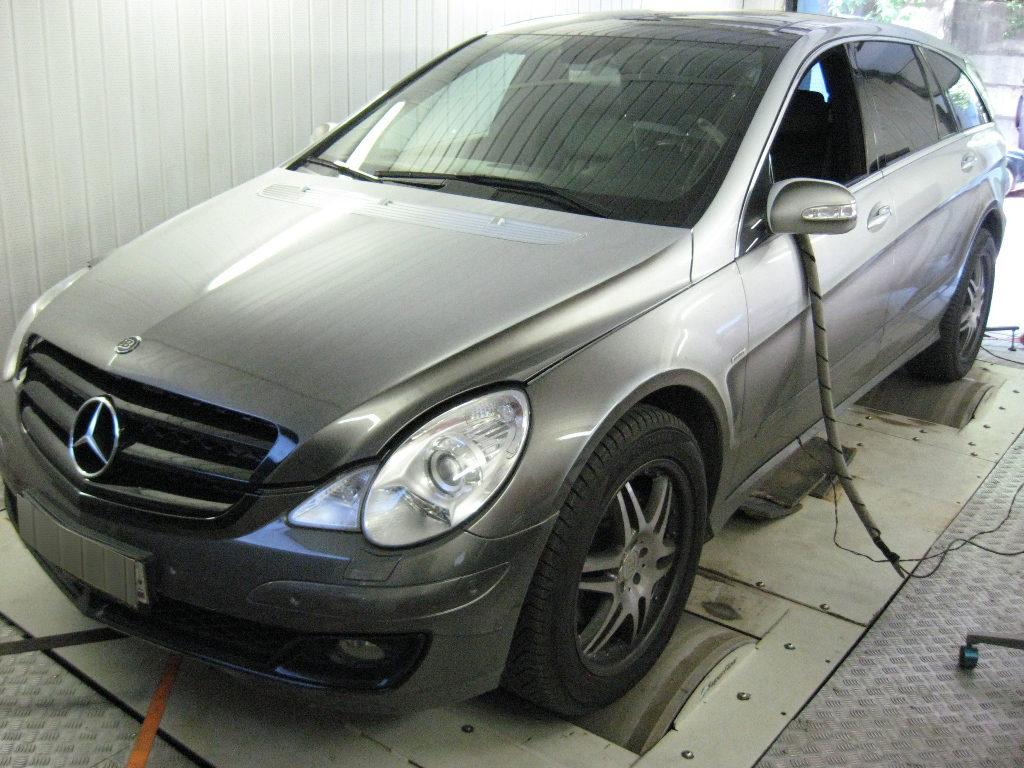 Чип тюнинг Mercedes R-class W251