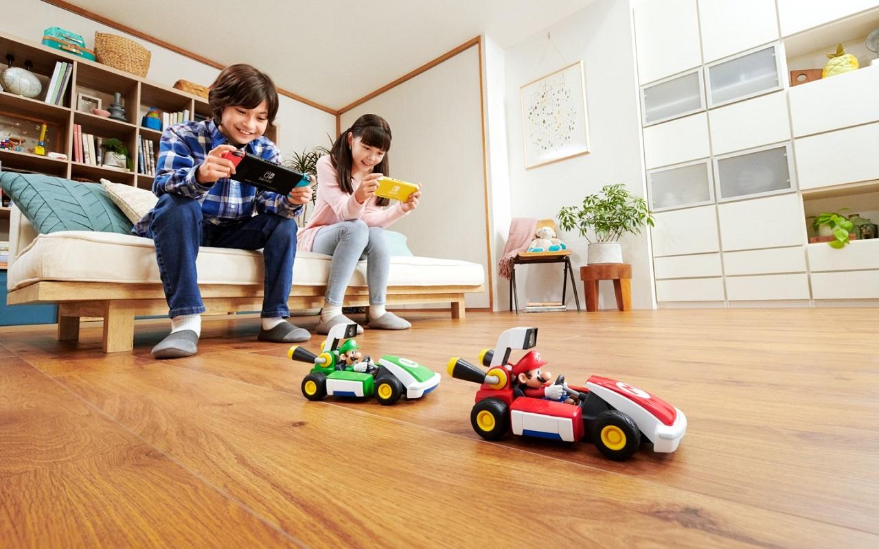 Nintendo перенесла игру Mario Kart вреальный мир— журнал Зарулем