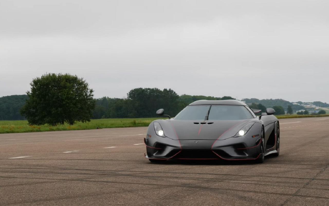Смотрите, как гиперкар Koenigsegg разгоняется до300 км/ч (видео)— журнал Зарулем