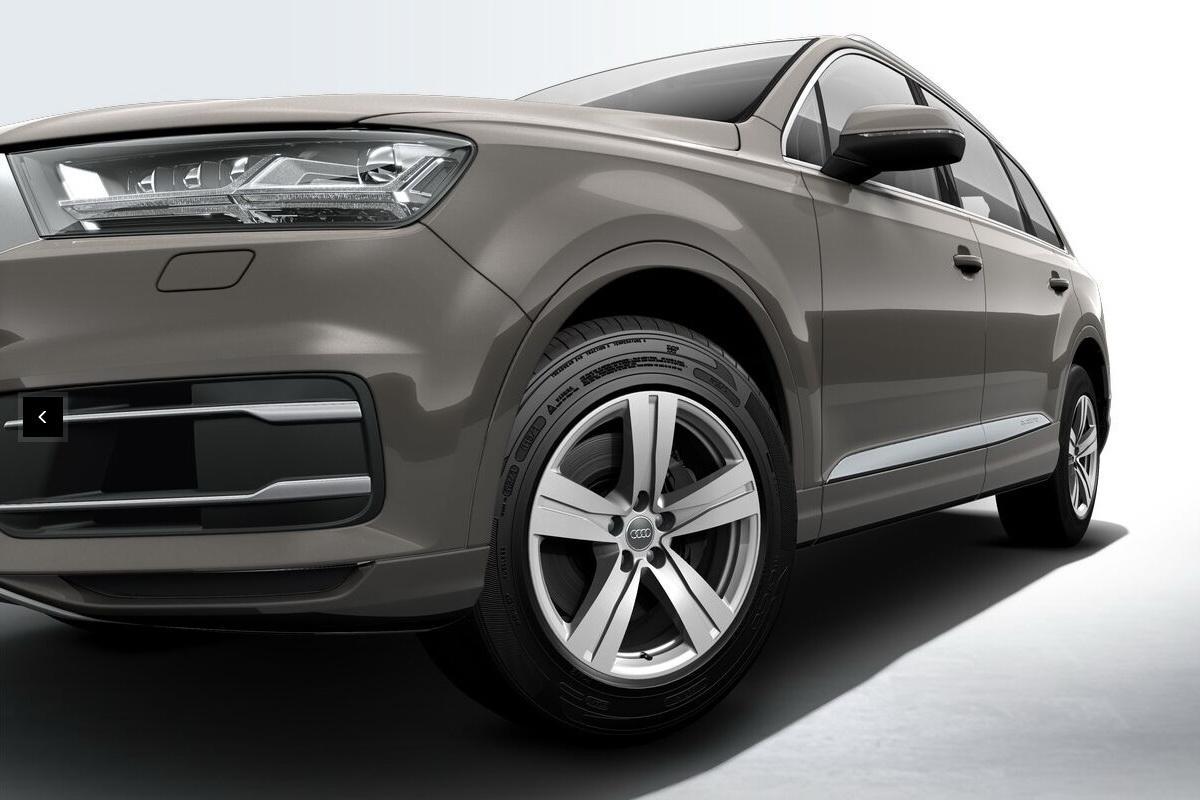Audi Q7 4M — Выбор шин и дисков