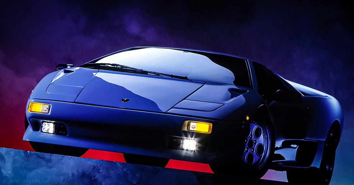Отмечаем 30 лет легендарного Lamborghini Diablo