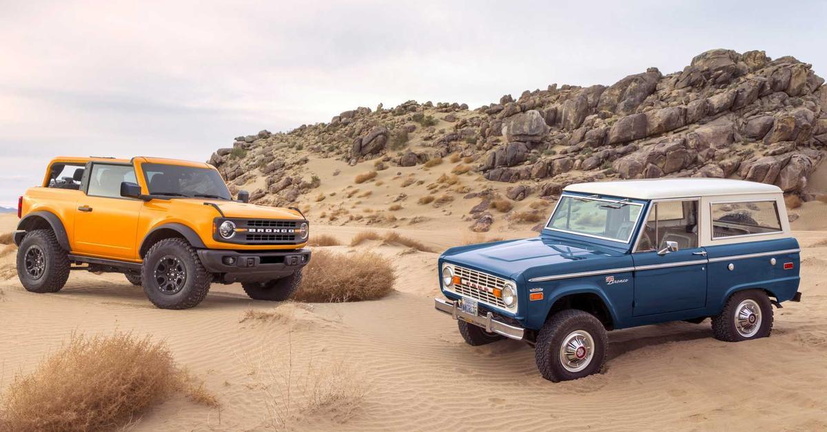 Ford может выпустить праворульный Bronco