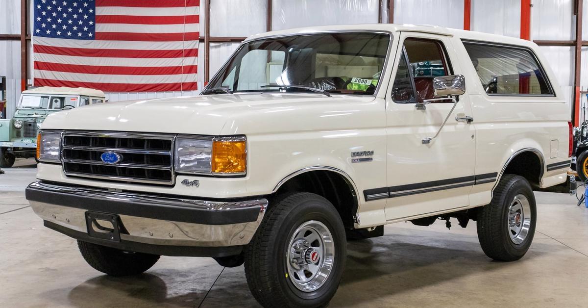 29-летний Ford Bronco без пробега выставили на продажу — Motor
