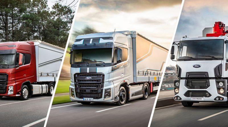 Модельный ряд легких грузовиков Ford на выставке Truck Expo 2018